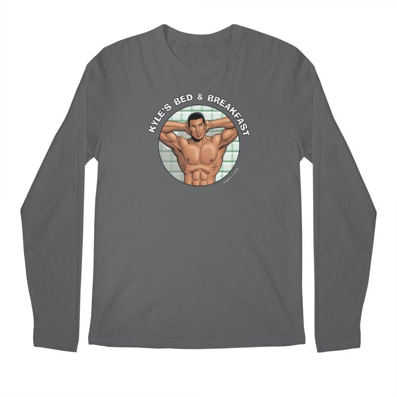Lance - Shower Men's Regular Longsleeve T-Shirt by Kyle's Bed & Breakfast Fine Clothing & Gifts Shop