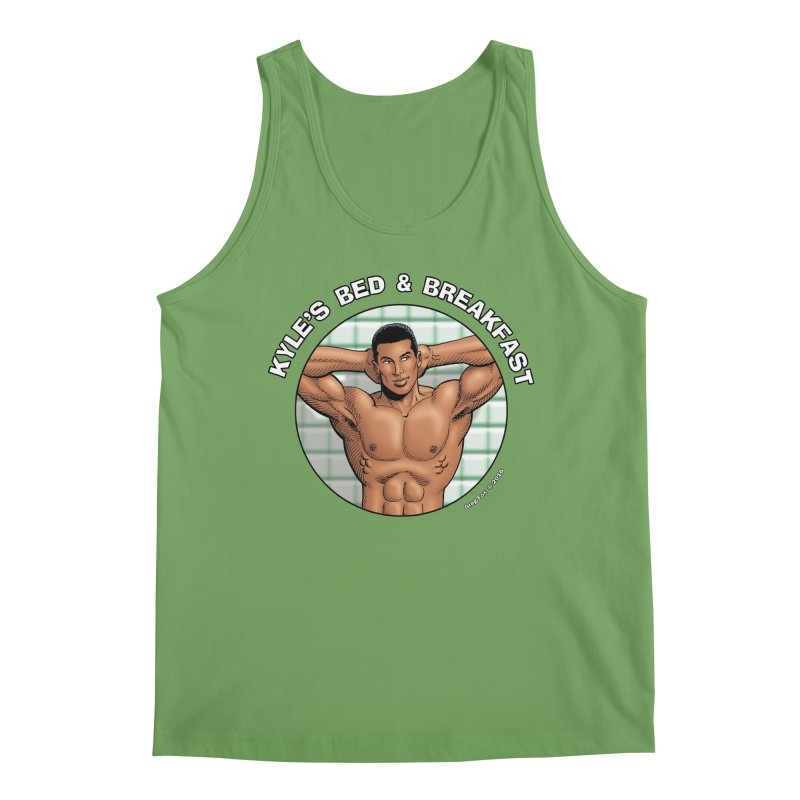Lance - Shower Men's Tank by Kyle's Bed & Breakfast Fine Clothing & Gifts Shop
