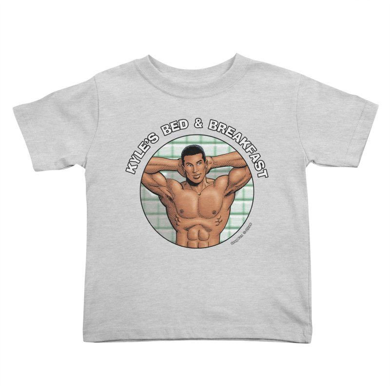 Lance - Shower Kids Toddler T-Shirt by Kyle's Bed & Breakfast Fine Clothing & Gifts Shop