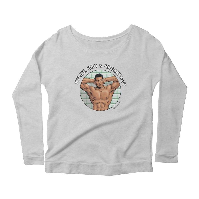 Lance - Shower Women's Longsleeve T-Shirt by Kyle's Bed & Breakfast Fine Clothing & Gifts Shop