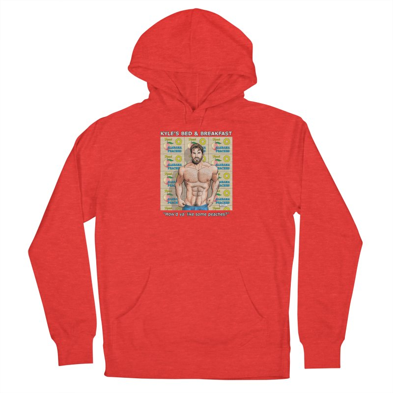 Drew - Fresh Alabama Peaches Women's Pullover Hoody by Kyle's Bed & Breakfast Fine Clothing & Gifts Shop