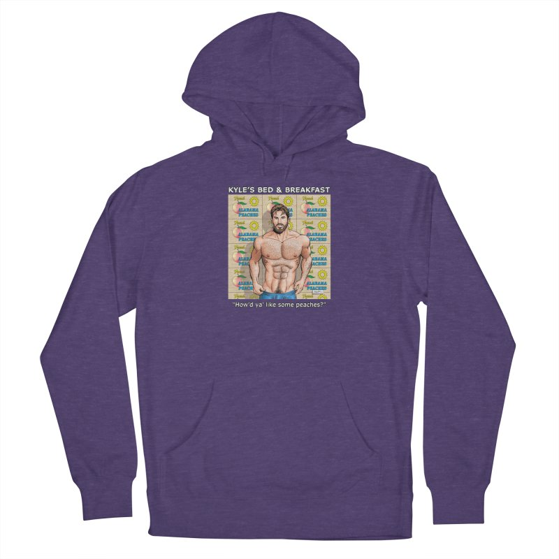 Drew - Fresh Alabama Peaches Men's Pullover Hoody by Kyle's Bed & Breakfast Fine Clothing & Gifts Shop