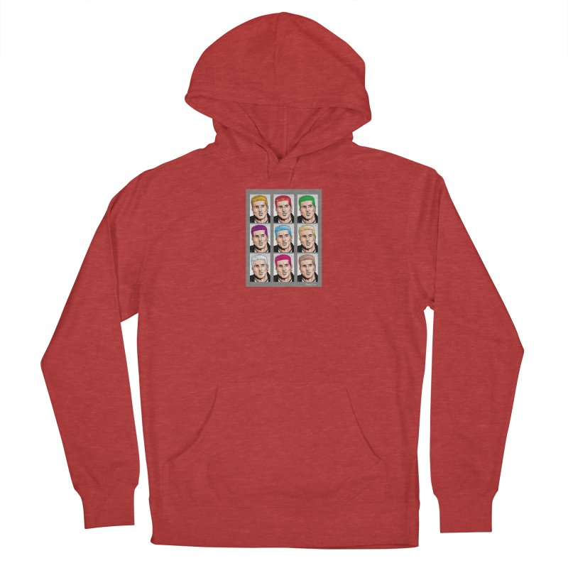 The Many Haircolors of Richard Men's French Terry Pullover Hoody by Kyle's Bed & Breakfast Fine Clothing & Gifts Shop