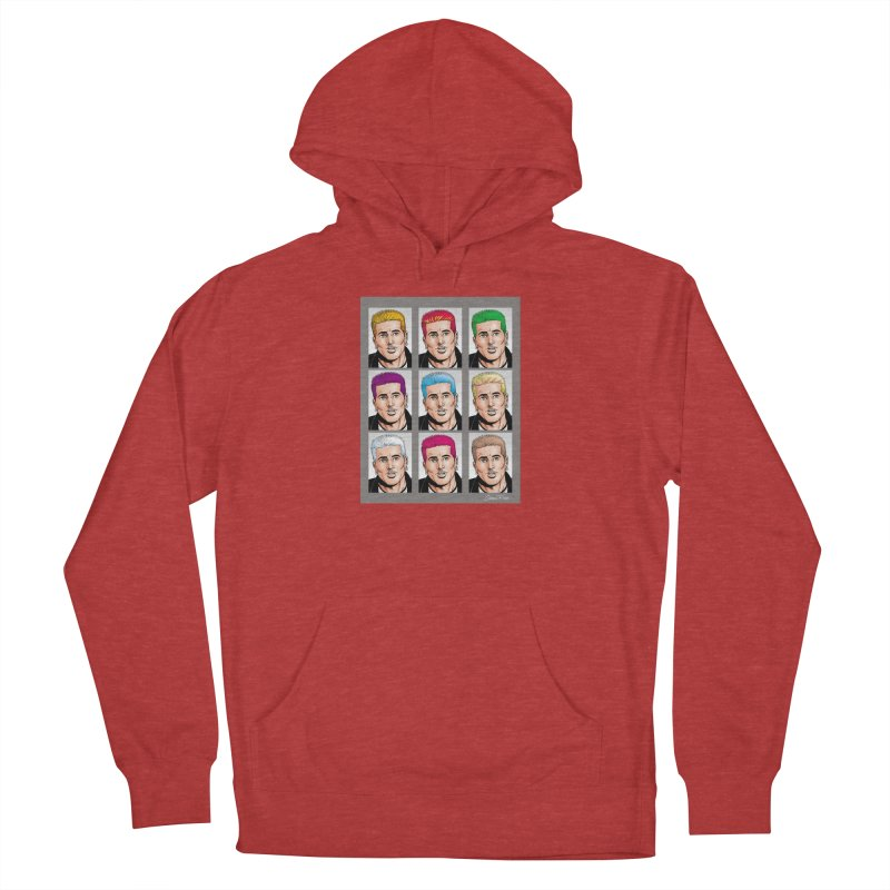 The Many Haircolors of Richard Women's French Terry Pullover Hoody by Kyle's Bed & Breakfast Fine Clothing & Gifts Shop