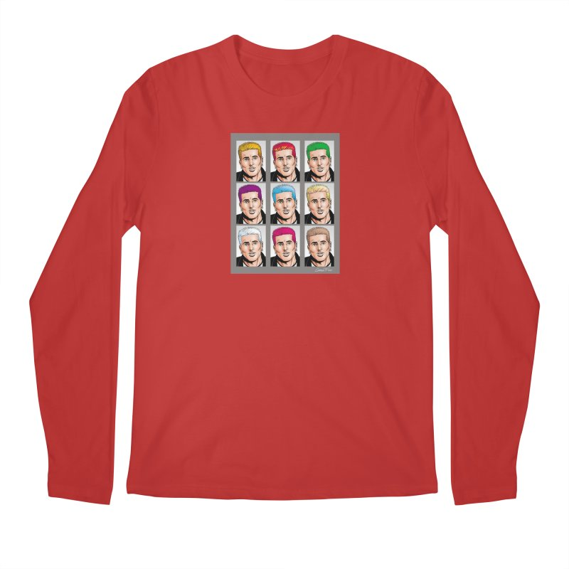 The Many Haircolors of Richard Men's Regular Longsleeve T-Shirt by Kyle's Bed & Breakfast Fine Clothing & Gifts Shop