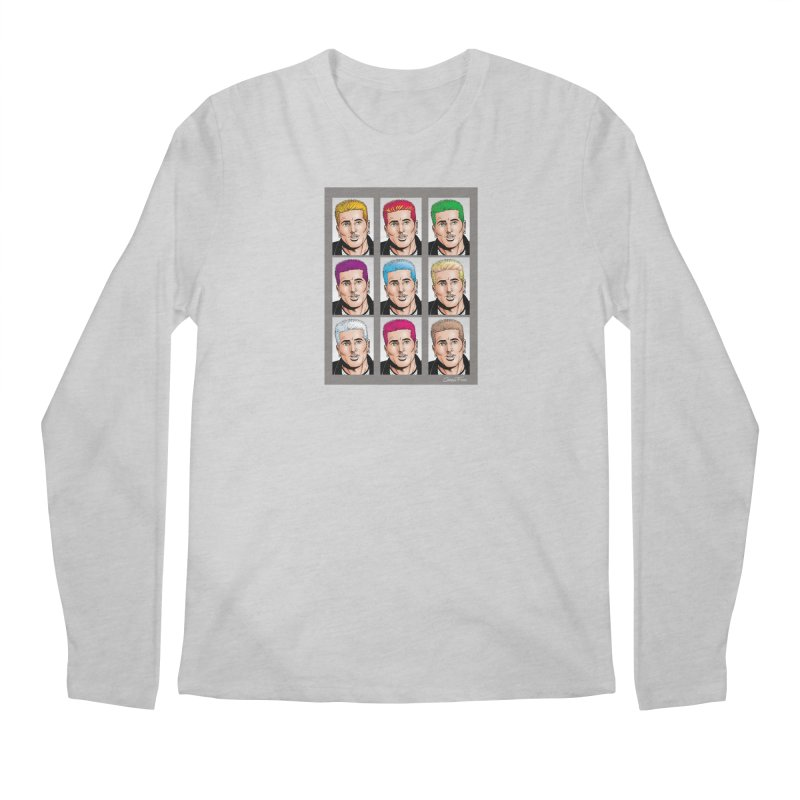 The Many Haircolors of Richard Men's Longsleeve T-Shirt by Kyle's Bed & Breakfast Fine Clothing & Gifts Shop