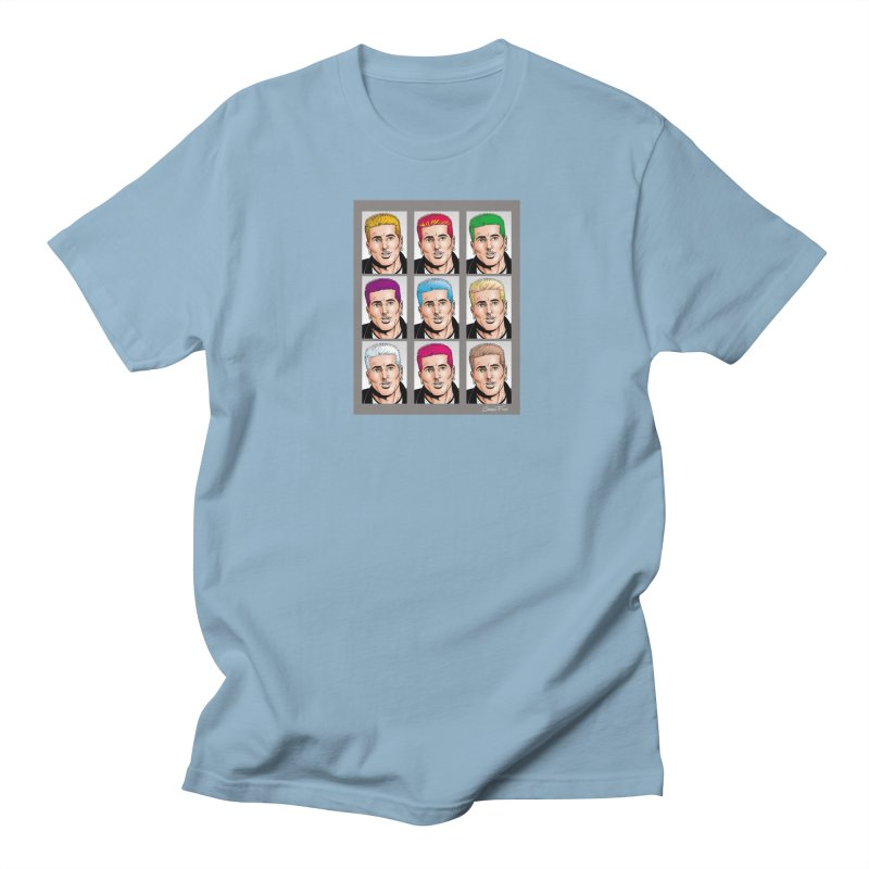 The Many Haircolors of Richard Men's T-Shirt by Kyle's Bed & Breakfast Fine Clothing & Gifts Shop