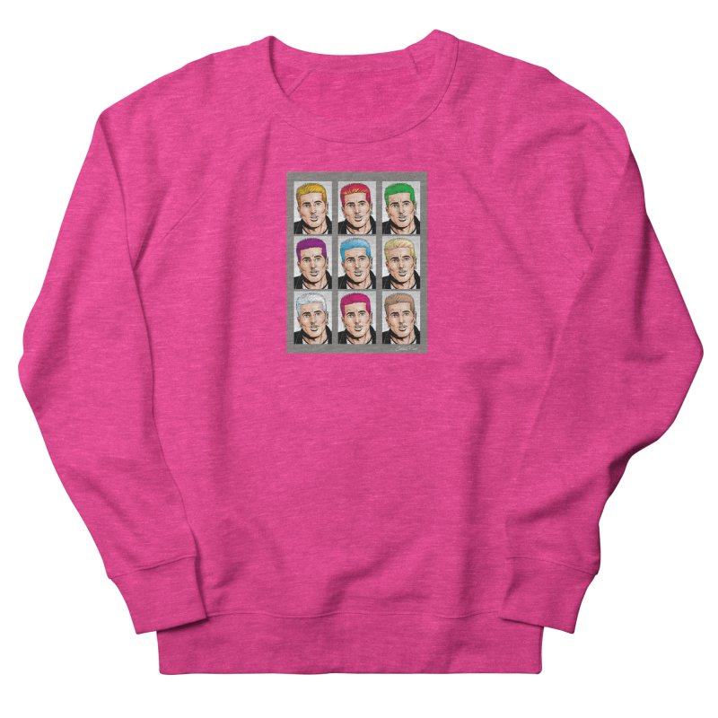 The Many Haircolors of Richard Women's French Terry Sweatshirt by Kyle's Bed & Breakfast Fine Clothing & Gifts Shop