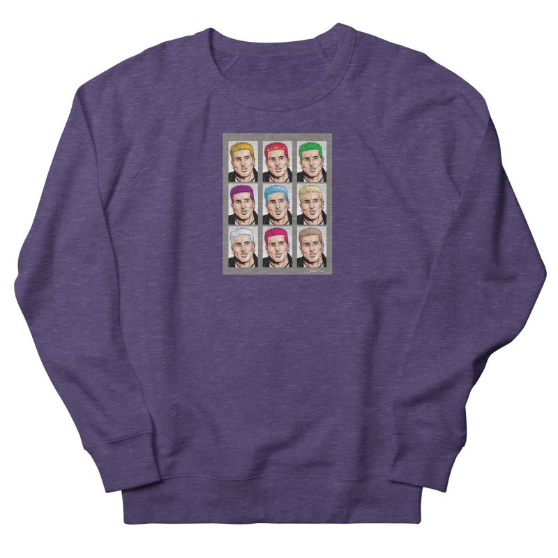 The Many Haircolors of Richard Men's French Terry Sweatshirt by Kyle's Bed & Breakfast Fine Clothing & Gifts Shop