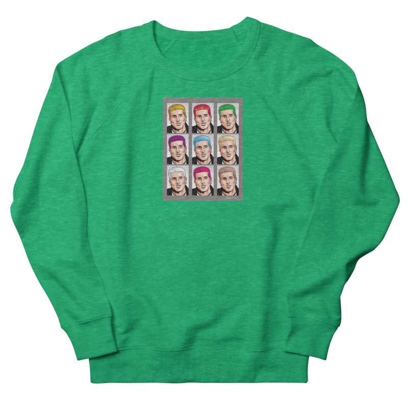 The Many Haircolors of Richard Men's Sweatshirt by Kyle's Bed & Breakfast Fine Clothing & Gifts Shop