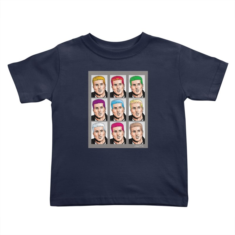 The Many Haircolors of Richard Kids Toddler T-Shirt by Kyle's Bed & Breakfast Fine Clothing & Gifts Shop