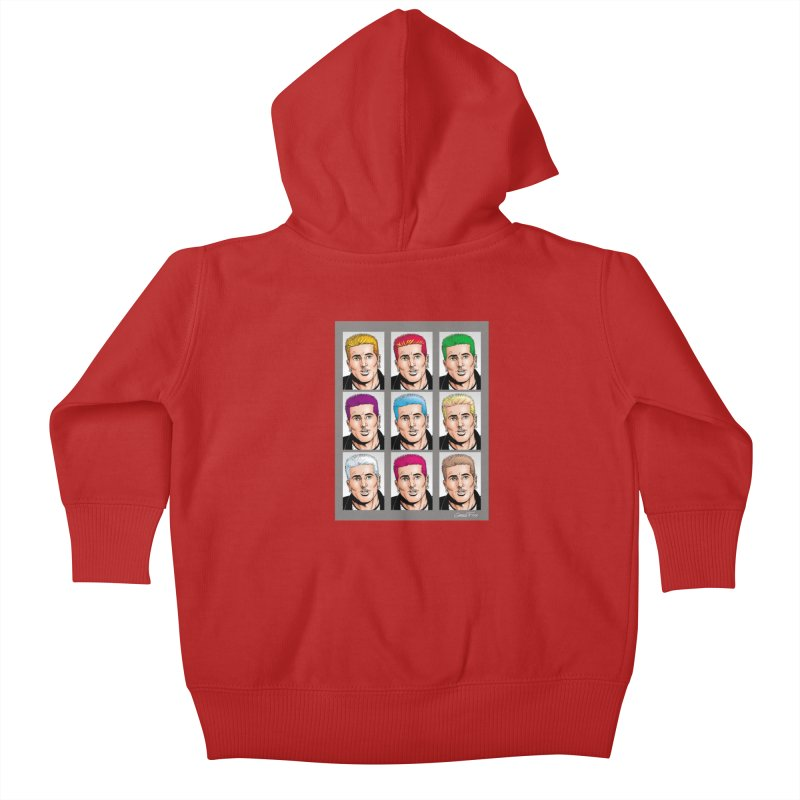 The Many Haircolors of Richard Kids Baby Zip-Up Hoody by Kyle's Bed & Breakfast Fine Clothing & Gifts Shop