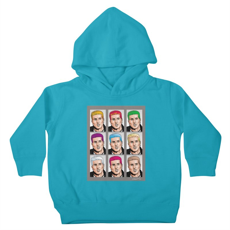 The Many Haircolors of Richard Kids Toddler Pullover Hoody by Kyle's Bed & Breakfast Fine Clothing & Gifts Shop