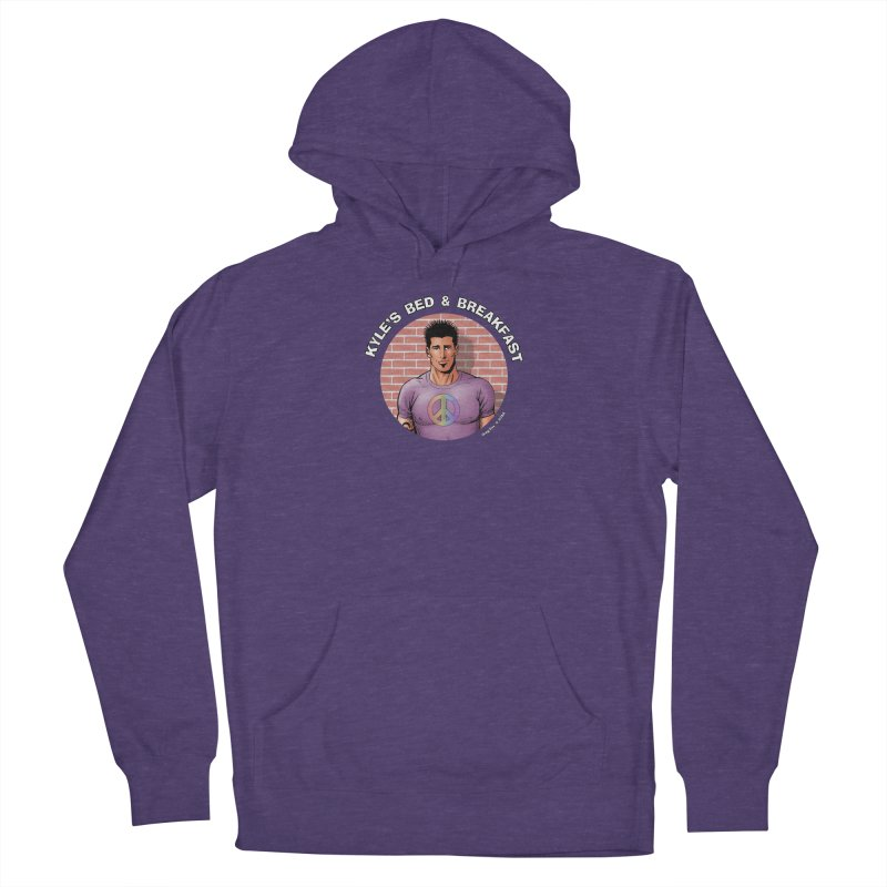 Eduardo - Peace Women's Pullover Hoody by Kyle's Bed & Breakfast Fine Clothing & Gifts Shop