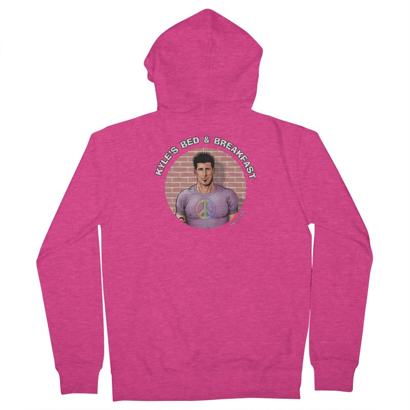 Eduardo - Peace Women's Zip-Up Hoody by Kyle's Bed & Breakfast Fine Clothing & Gifts Shop