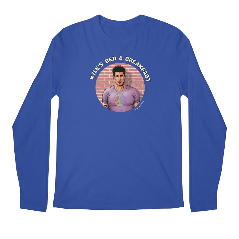 Eduardo - Peace Men's Regular Longsleeve T-Shirt by Kyle's Bed & Breakfast Fine Clothing & Gifts Shop
