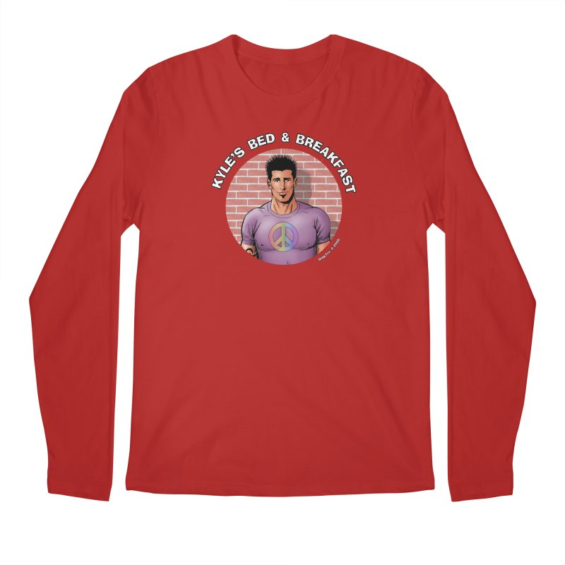 Eduardo - Peace Men's Longsleeve T-Shirt by Kyle's Bed & Breakfast Fine Clothing & Gifts Shop