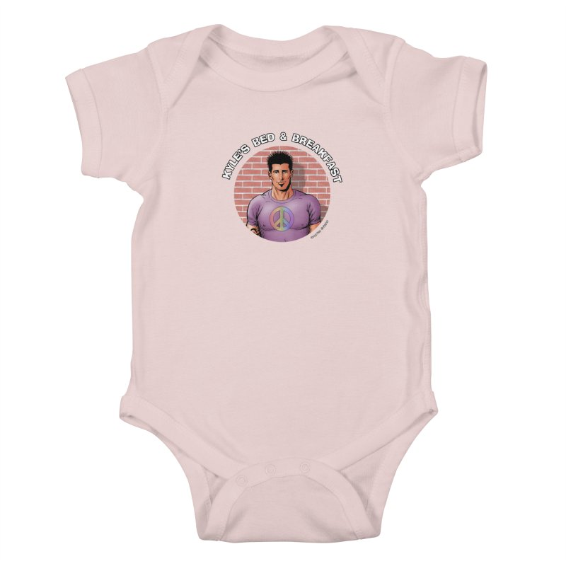 Eduardo - Peace Kids Baby Bodysuit by Kyle's Bed & Breakfast Fine Clothing & Gifts Shop