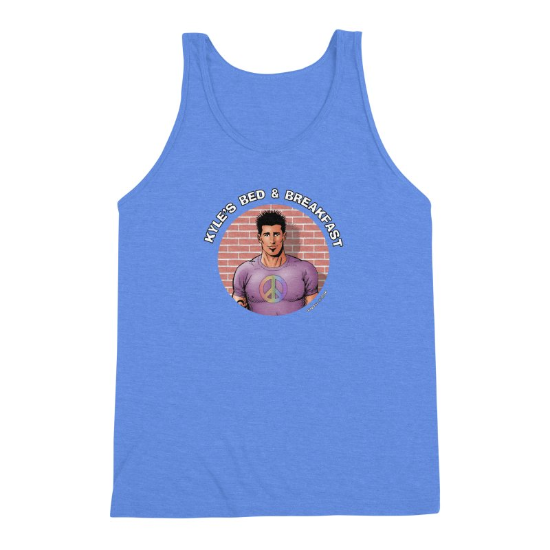 Eduardo - Peace Men's Tank by Kyle's Bed & Breakfast Fine Clothing & Gifts Shop