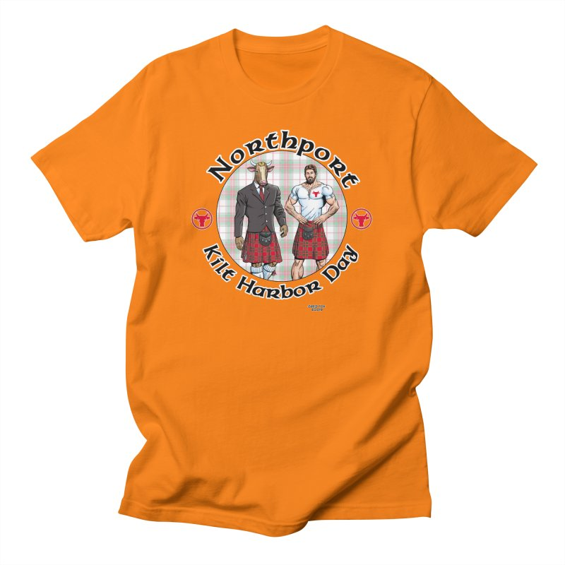 Northport - Kilt Harbor Day Men's T-Shirt by Kyle's Bed & Breakfast Fine Clothing & Gifts Shop