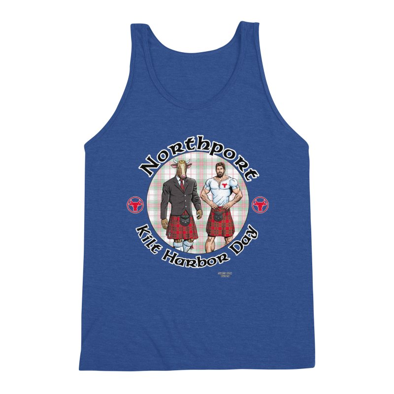 Northport - Kilt Harbor Day Men's Tank by Kyle's Bed & Breakfast Fine Clothing & Gifts Shop