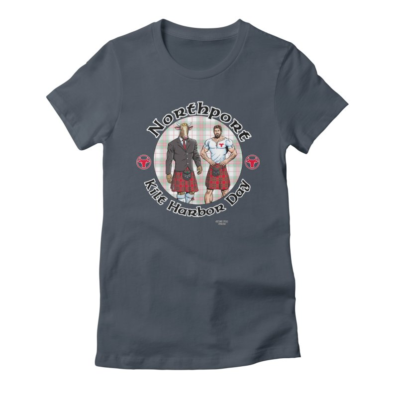 Northport - Kilt Harbor Day Women's T-Shirt by Kyle's Bed & Breakfast Fine Clothing & Gifts Shop