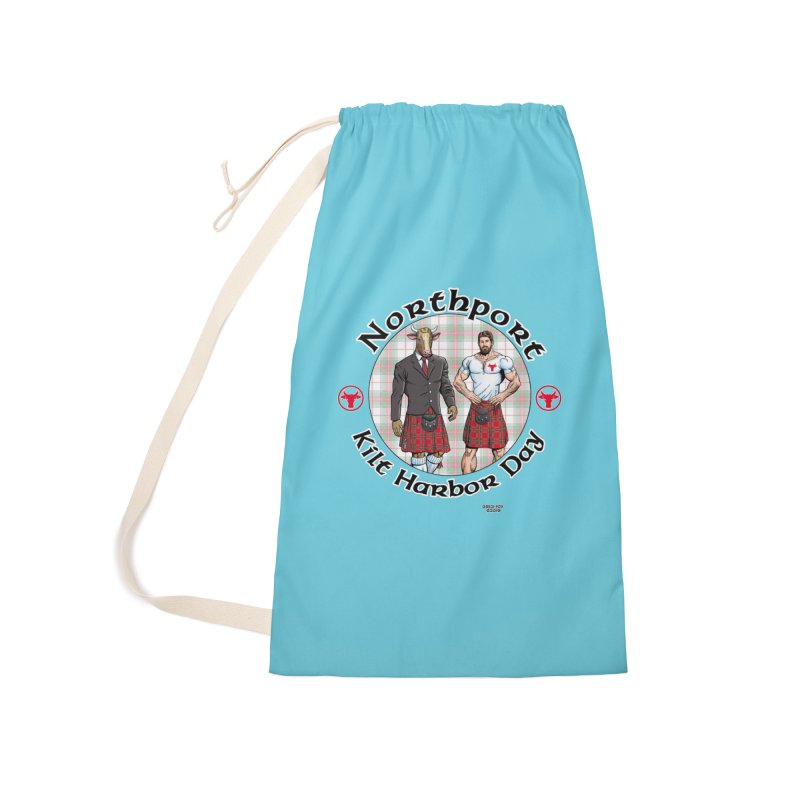 Northport - Kilt Harbor Day Accessories Laundry Bag Bag by Kyle's Bed & Breakfast Fine Clothing & Gifts Shop