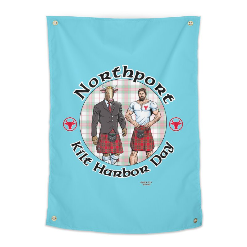 Northport - Kilt Harbor Day Home Tapestry by Kyle's Bed & Breakfast Fine Clothing & Gifts Shop