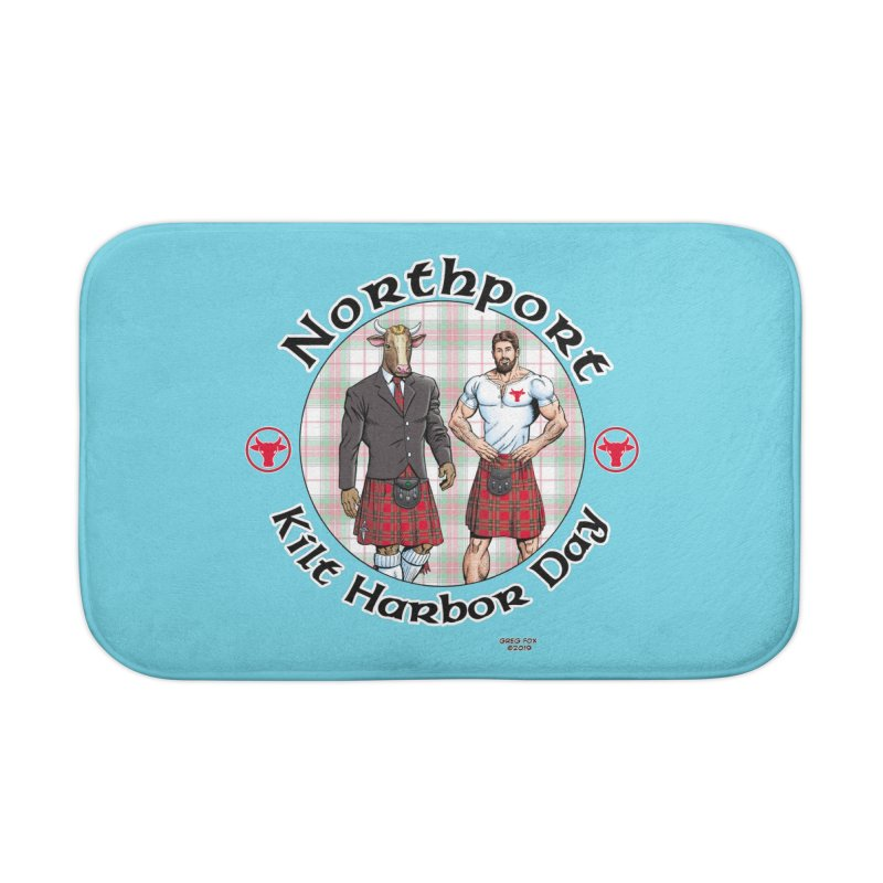 Northport - Kilt Harbor Day Home Bath Mat by Kyle's Bed & Breakfast Fine Clothing & Gifts Shop