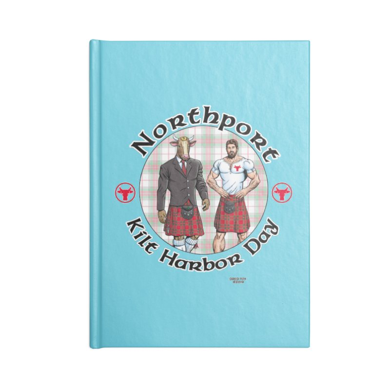 Northport - Kilt Harbor Day Accessories Lined Journal Notebook by Kyle's Bed & Breakfast Fine Clothing & Gifts Shop