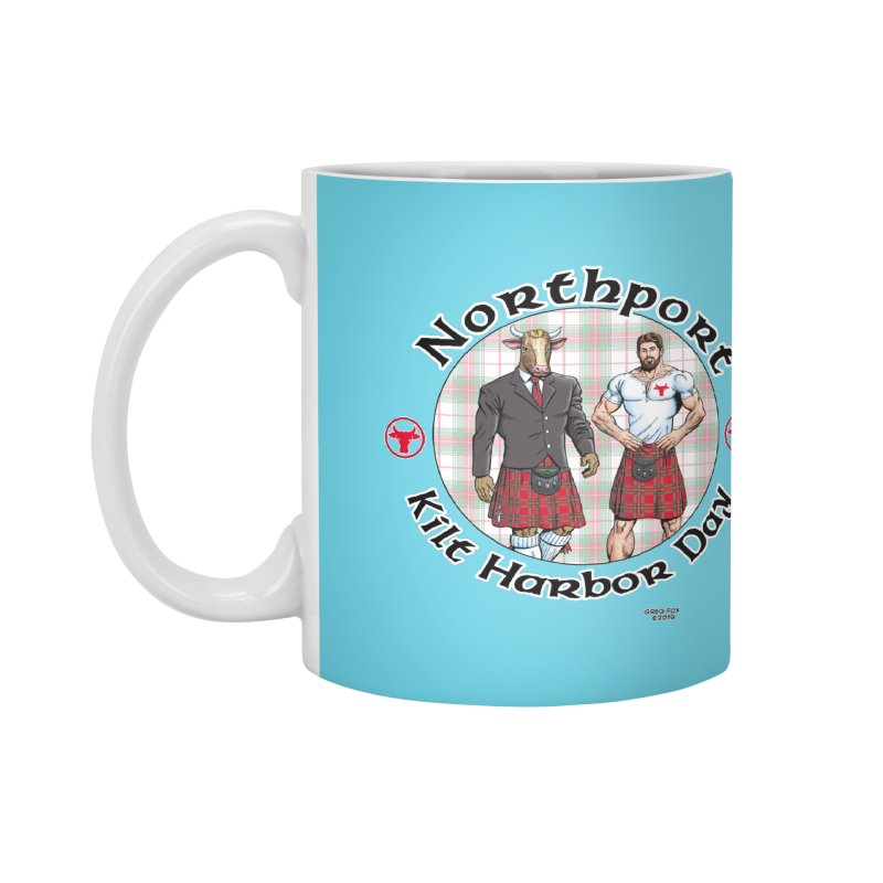 Northport - Kilt Harbor Day Accessories Mug by Kyle's Bed & Breakfast Fine Clothing & Gifts Shop