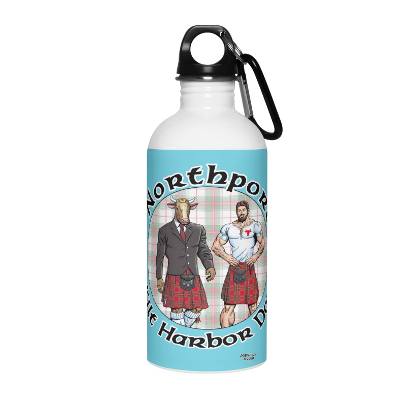 Northport - Kilt Harbor Day Accessories Water Bottle by Kyle's Bed & Breakfast Fine Clothing & Gifts Shop