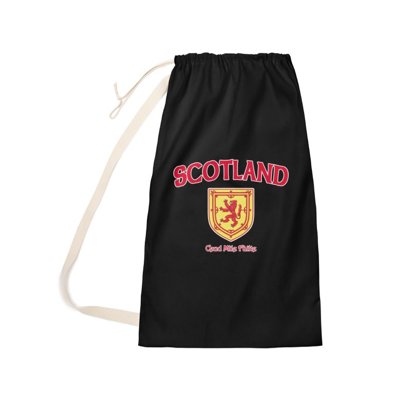 Scotland - Ceud Mìle Fàilte Accessories Laundry Bag Bag by Kyle's Bed & Breakfast Fine Clothing & Gifts Shop