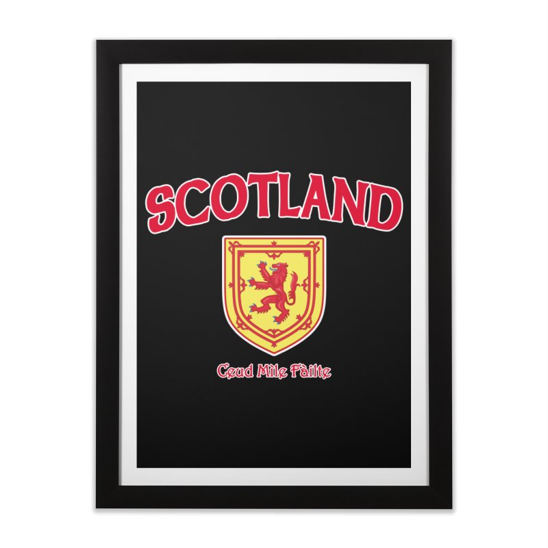 Scotland - Ceud Mìle Fàilte Home Framed Fine Art Print by Kyle's Bed & Breakfast Fine Clothing & Gifts Shop