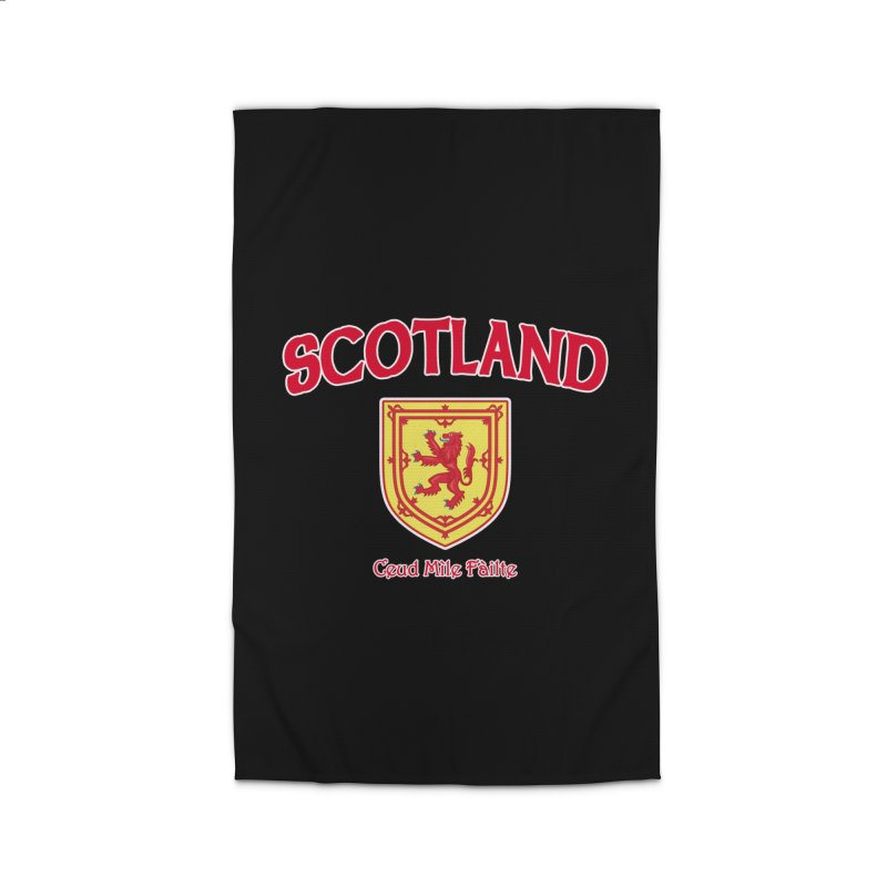 Scotland - Ceud Mìle Fàilte Home Rug by Kyle's Bed & Breakfast Fine Clothing & Gifts Shop