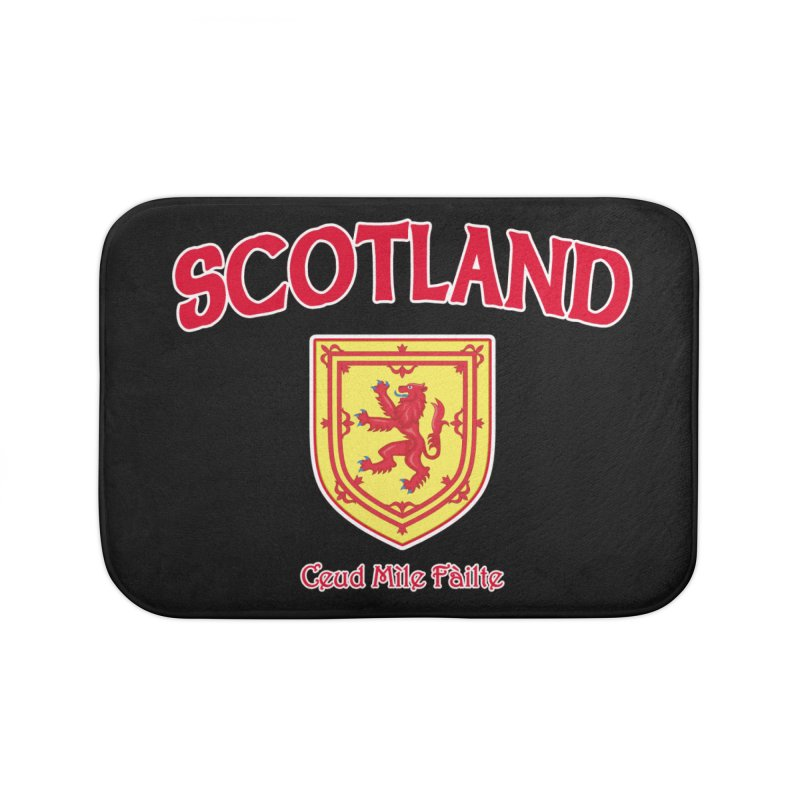 Scotland - Ceud Mìle Fàilte Home Bath Mat by Kyle's Bed & Breakfast Fine Clothing & Gifts Shop