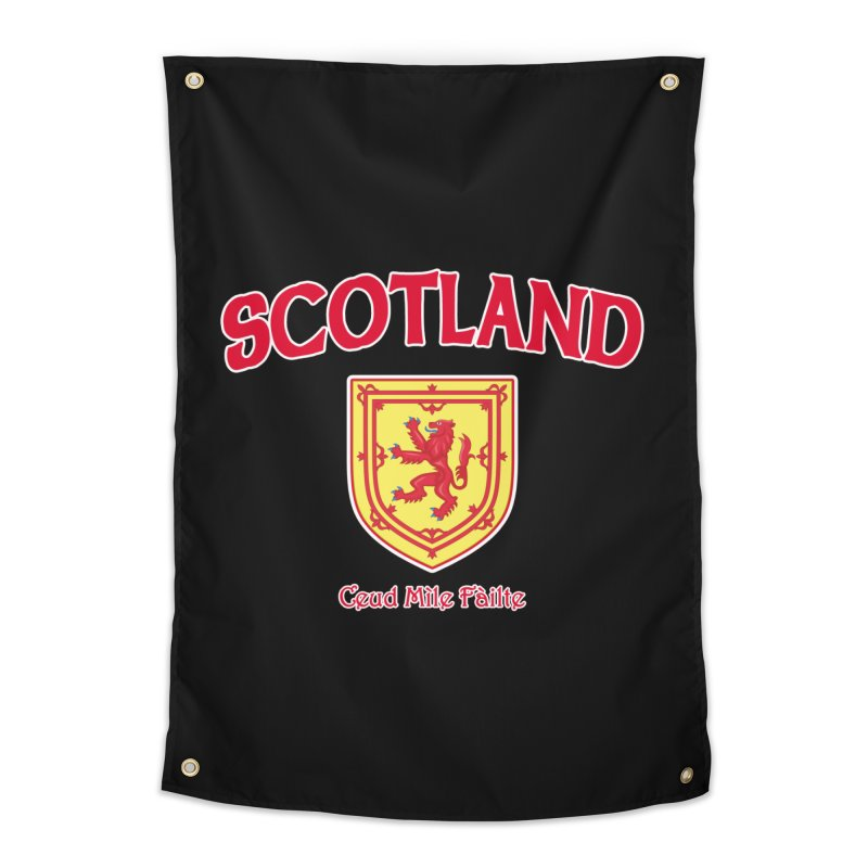 Scotland - Ceud Mìle Fàilte Home Tapestry by Kyle's Bed & Breakfast Fine Clothing & Gifts Shop