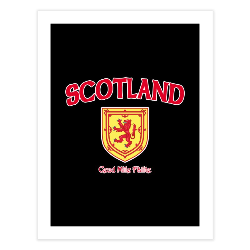 Scotland - Ceud Mìle Fàilte Home Fine Art Print by Kyle's Bed & Breakfast Fine Clothing & Gifts Shop