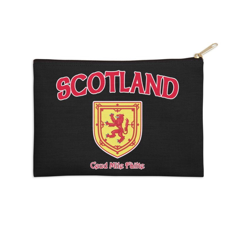 Scotland - Ceud Mìle Fàilte Accessories Zip Pouch by Kyle's Bed & Breakfast Fine Clothing & Gifts Shop