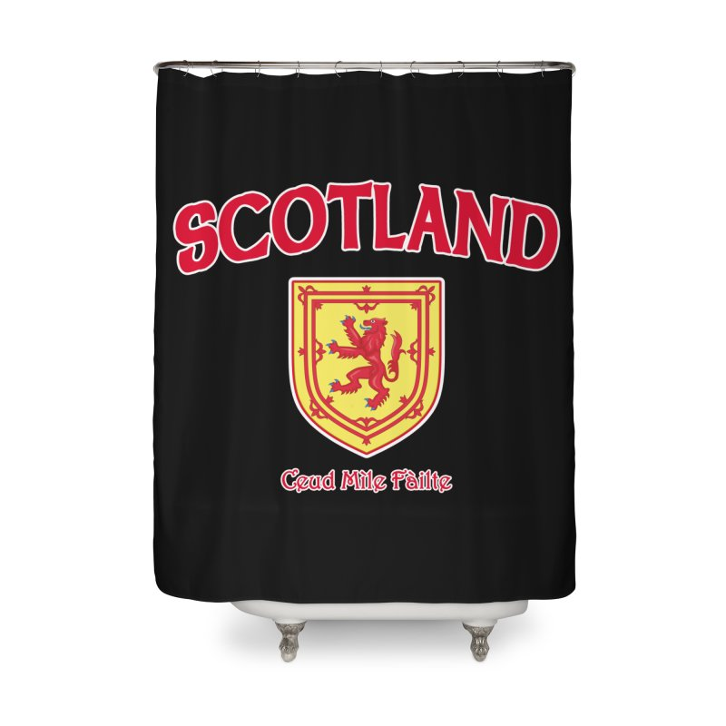Scotland - Ceud Mìle Fàilte Home Shower Curtain by Kyle's Bed & Breakfast Fine Clothing & Gifts Shop