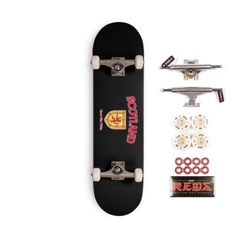 Scotland - Ceud Mìle Fàilte Accessories Complete - Pro Skateboard by Kyle's Bed & Breakfast Fine Clothing & Gifts Shop