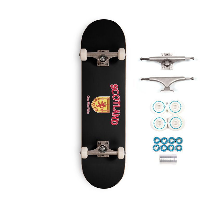 Scotland - Ceud Mìle Fàilte Accessories Complete - Basic Skateboard by Kyle's Bed & Breakfast Fine Clothing & Gifts Shop