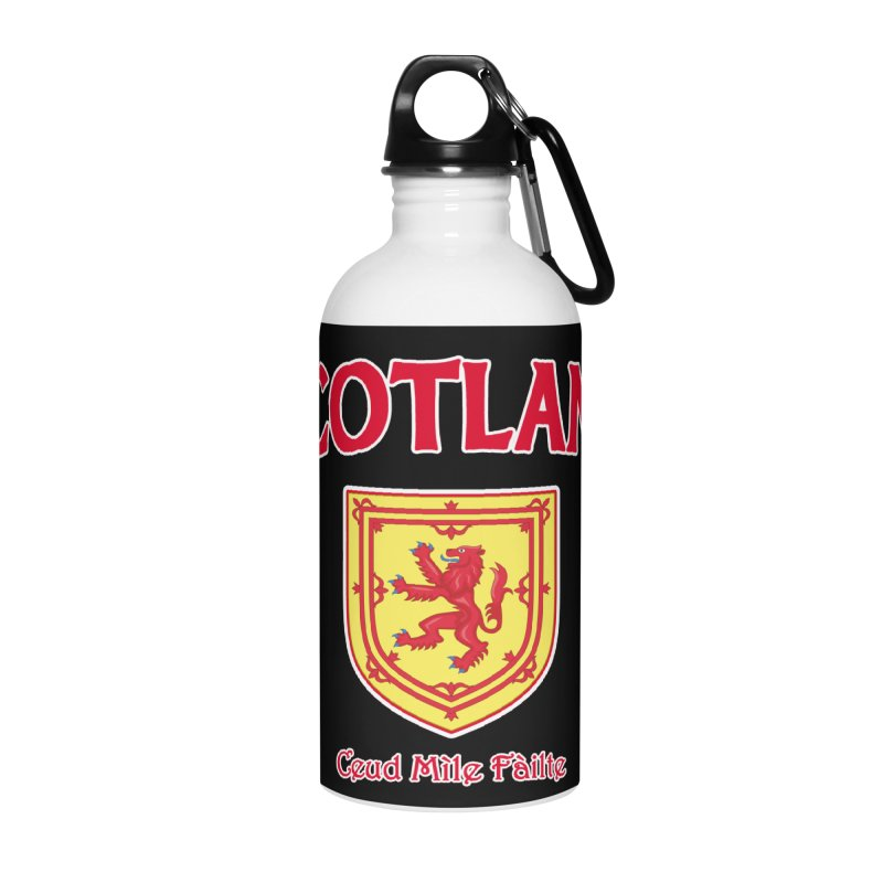 Scotland - Ceud Mìle Fàilte Accessories Water Bottle by Kyle's Bed & Breakfast Fine Clothing & Gifts Shop
