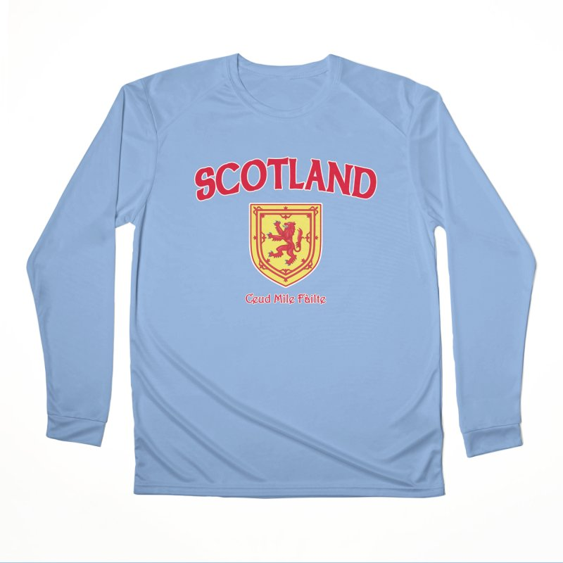 Scotland - Ceud Mìle Fàilte Men's Longsleeve T-Shirt by Kyle's Bed & Breakfast Fine Clothing & Gifts Shop