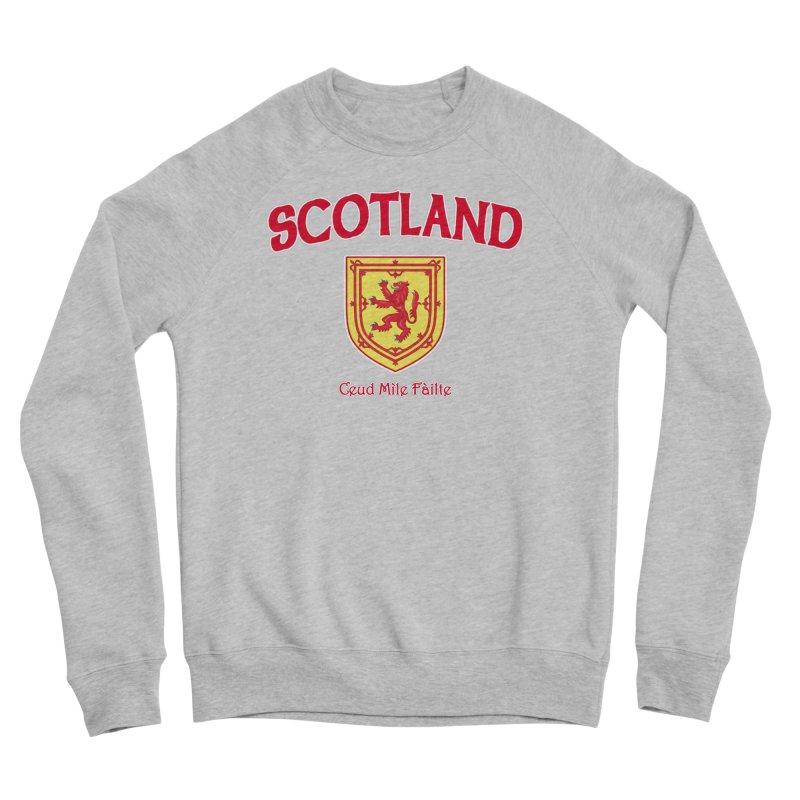 Scotland - Ceud Mìle Fàilte Men's Sponge Fleece Sweatshirt by Kyle's Bed & Breakfast Fine Clothing & Gifts Shop