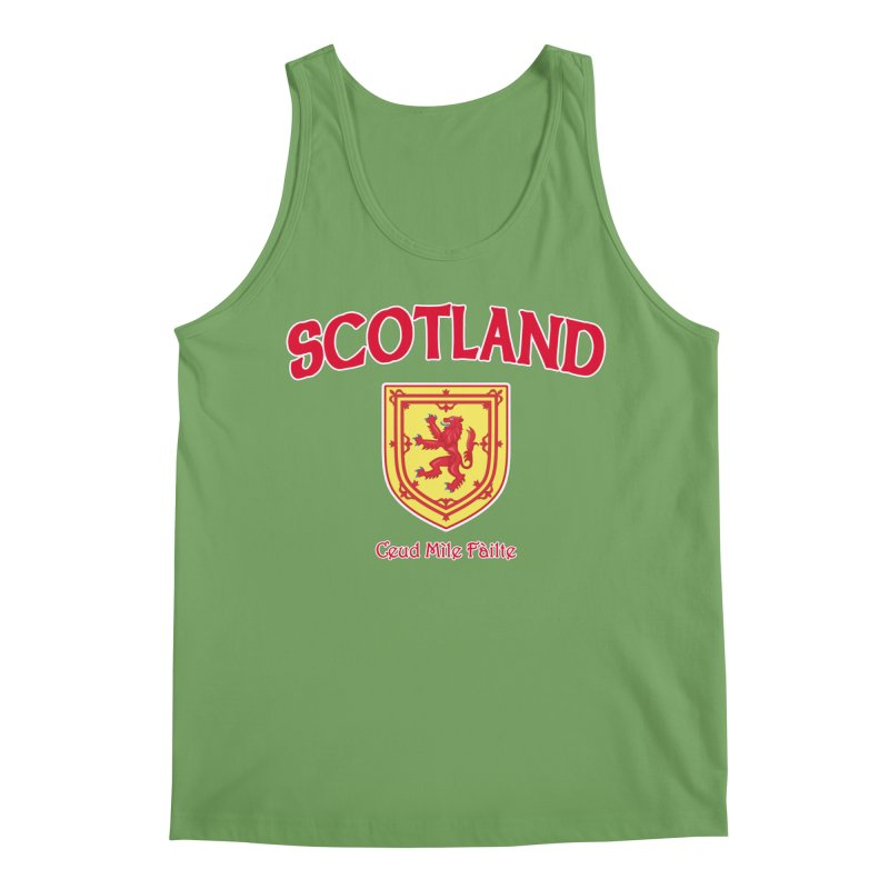 Scotland - Ceud Mìle Fàilte Men's Tank by Kyle's Bed & Breakfast Fine Clothing & Gifts Shop