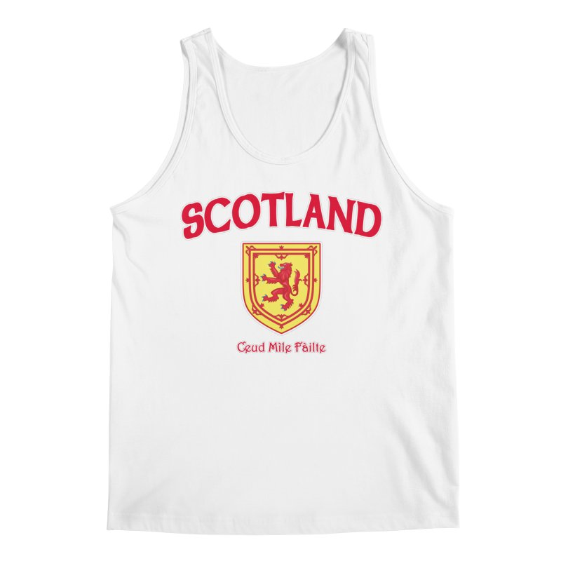 Scotland - Ceud Mìle Fàilte Men's Regular Tank by Kyle's Bed & Breakfast Fine Clothing & Gifts Shop