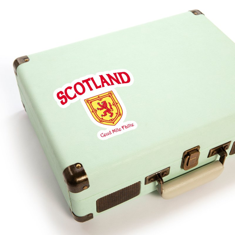 Scotland - Ceud Mìle Fàilte Accessories Sticker by Kyle's Bed & Breakfast Fine Clothing & Gifts Shop