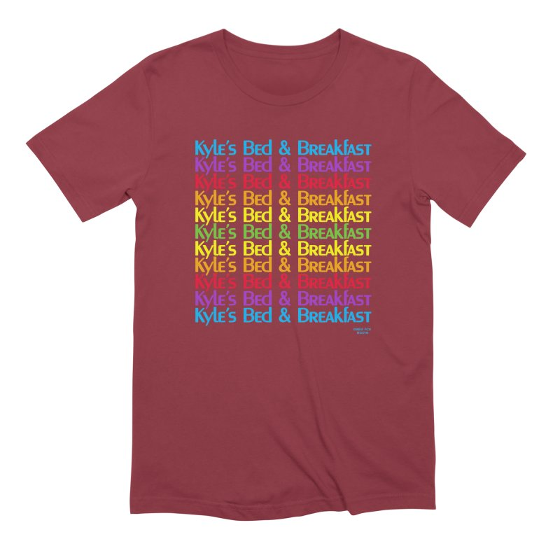Kyle's B&B -  Love is All Around Men's T-Shirt by Kyle's Bed & Breakfast Fine Clothing & Gifts Shop