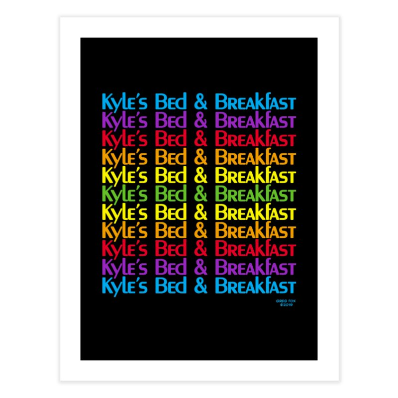 Kyle's B&B -  Love is All Around Home Fine Art Print by Kyle's Bed & Breakfast Fine Clothing & Gifts Shop